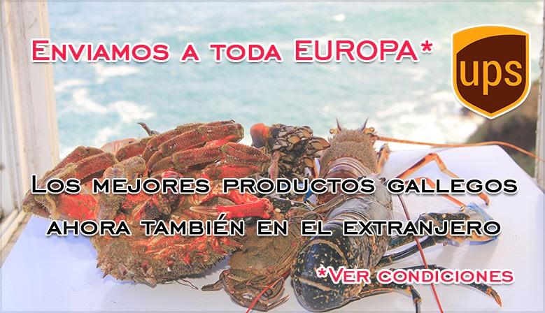 Ahora también enviamos nuestros productos a Europa